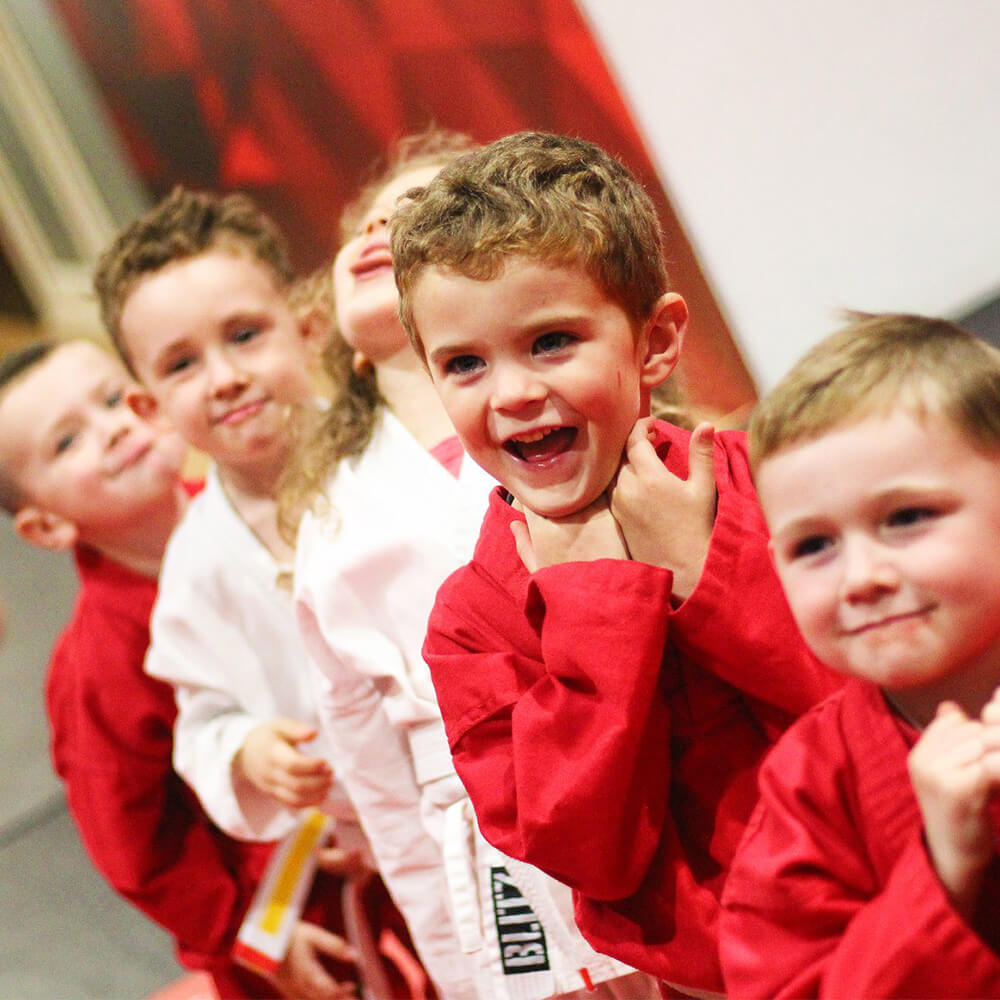 martial arts helps your children's confidence