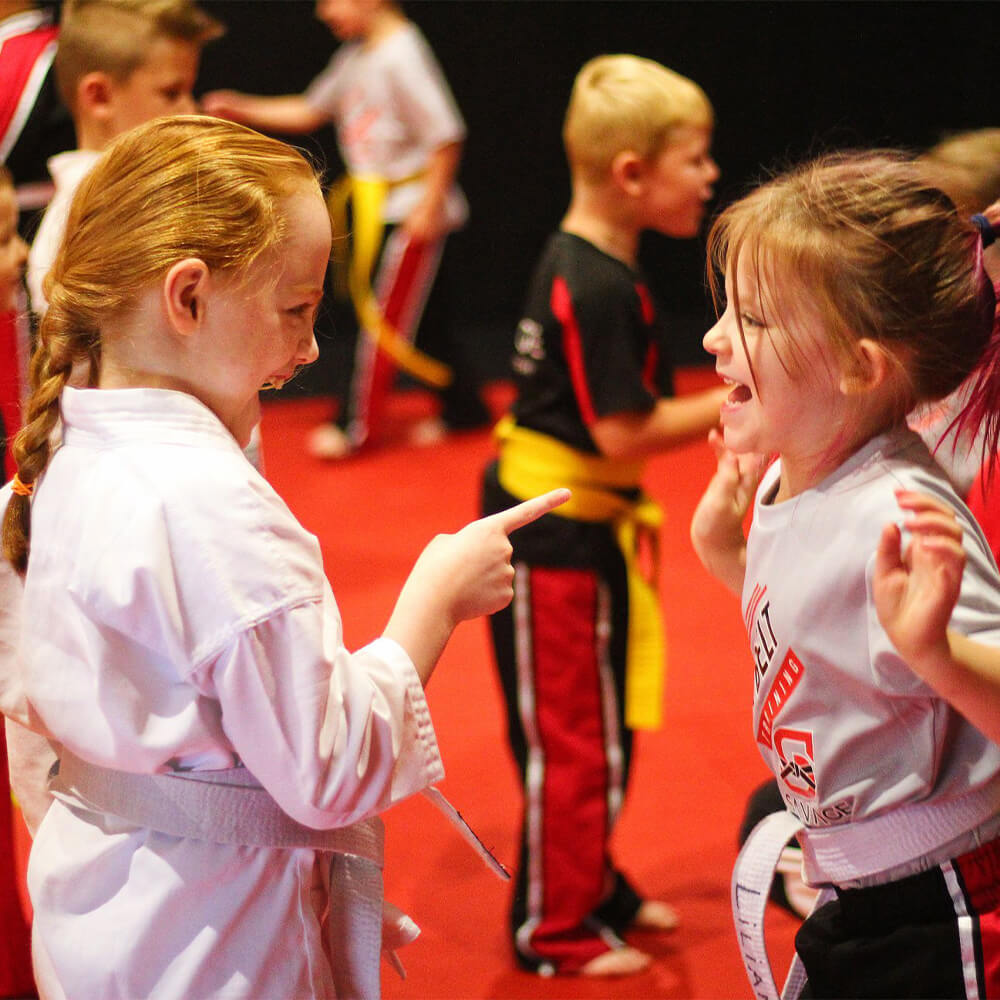 martial arts helps keep your kids fit and healthy